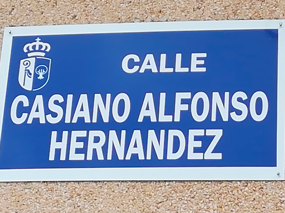 CALLE CASIANO ALFONSO HERNÁNDEZ